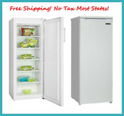 Upright Chest Freezer 6 5 Cu Ft 55 Front Access Reversible Door Stand Alone