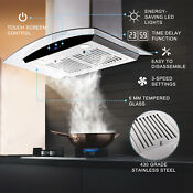 36 Stainless Steel Under Cabinet Range Hood Stove Vent Extractor Kitchen Remote