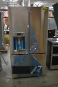 Ge Cafe Cfe28tshss 36 Stainless French Door Refrigerator Nob 42747 Hrt