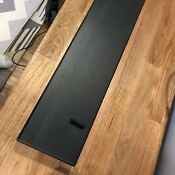Miele Dishwasher Black Toe Kick Plate 06606131
