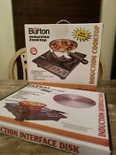Nib Burton Induction Cooktop Stove Hot Plate 1800w Model 6000 Bonus Disk