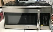 Frigidaire Fgmv175qf Gallery 1 7 Cu Over Range Microwave Stainless Local Pickup