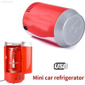 8w Usb Mini Car Auto Coca Bottle Coke Can Fridge Refrigerator Cooler Cooling