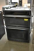 Samsung Nq70m6650dg 30 Black Stainless Double Electric Wall Oven Nob 43882 Hrt