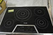 Thermador Cet304ns 30 Stainless 4 Element Electric Cooktop Nob 44416 Hrt
