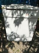 Ge Gsc3500d50ww 24 White Full Console Dishwasher Used Very Little