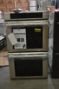 Thermador Me302js 30 Stainless Double Electric Wall Oven Nob 44694 Hrt
