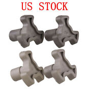 Us 2x Turntable Coupler Tray Drive Stand Roller Microwave Oven Replacement Part