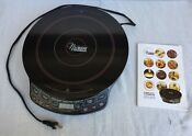Nuwave Precision Induction Cooktop Model 30121 Good W Cookbook Owner S Manual