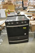 Whirlpool Wee750h0hv 30 Black Stainless Slide In Electric Range 45181 Hrt