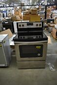 Whirlpool Wfe320m0es 30 Stainless Freestanding Electric Range 45180 Clw