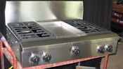 Kitchen Aid 36 Professional Restaurant Style Gas Cooktop Stainless Kgcp463kss0