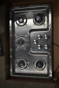 Ge Profile Pgp966setss 36 Stainless Gas Cooktop 516 Mad
