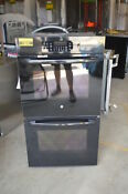 Ge Jk3500dfbb 27 Black Double Electric Wall Oven Nob 15841 Mad