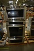 Thermador Medmcw31jp 30 Stainless Triple Combination Wall Oven 45791 Hrt