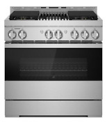 Jennair Noir 36 Gas Professional Style Range With Grill