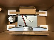 Whirlpool Stainless 30 Wall Mount Range Hood No Glass