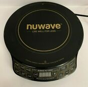 Nuwave Pic Gold 30211 Precision Induction Cooktop 1500 Watts Portable Burner