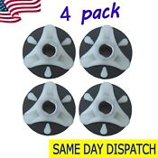 4 Pack 285753a Washer Motor Coupler W Metal Insert For Whirlpool Kenmore Roper