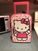 Hello Kitty Personal Portable Mini Fridge W Carry Handle Cooler Warmer