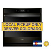 New Open Box Whirlpool 27 In Smart Single Electric Wall Oven Wos72ec7hv
