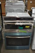 Ge Jt3800shss 30 Stainless Microwave Oven Combo Wall Oven Nob 42992 Hrt