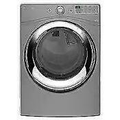 Whirlpool Wed86hebc Chrome Shadow Front Load Electric Steam Dryer Nib