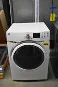 Ge Gfd45essmww 27 White Front Load Electric Dryer 7 5 Cu Ft Nob 41435 Clw