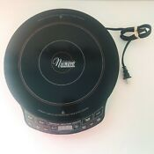Precision Nuwave Induction Cooktop 30101 Tested Works Cookware