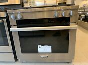 Miele Hr 1936 Df Gd 36 Inch Dual Fuel Range With Griddle Brand New Floor Model