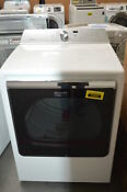 Maytag Medb835dw 29 White Front Load Electric Dryer Nob 32346 Cln