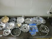 Lot Of Maytag Whirlpool Range Drip Bowls Pans Different Sizes