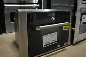 Thermador Mes301hp 24 Stainless Microwave Oven Combo Wall Oven Nob 31059 Clw