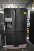 Samsung Rf28jbedbsg 36 Black Stainless French Door Refrigerator Nob 41348 Mad