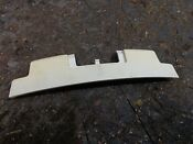 W10215766 Whirlpool Washer Dryer Door Trim Hinge Cover Panel White Wht Used