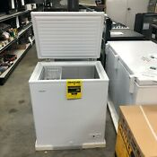 Hotpoint Chest Freezer 5 1 Cu Ft Scratch Dent Model
