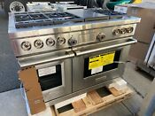 Wolf Df486 C 48 Dual Fuel Range W Infrared Charbroiler