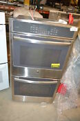 Ge Pk7500sfss 27 Stainless Double Electric Wall Oven Nob 22066