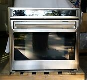 Wolf Oven L Series 30 Wall Oven Stainless With Convection Model S030f S