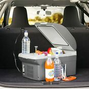 Portable Car Cooler Mini Fridge Warmer Truck Electric Refrigerator Camping 12v