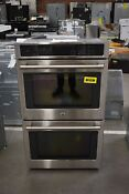 Ge Cafe Ct9550shss 30 Stainless Double Electric Wall Oven Nob 52753 Hrt