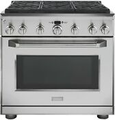 Ge Monogram Zgp366nrss 30 Stainless Pro Style Gas 6 Burner W Oven Range New