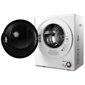 Compact Electric Tumble Laundry Dryer Multi Function Wall Mounted 1 5 Cu Ft