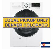New Lg 4 2 Cu Ft Compact Electric Condensing Front Load Dryer Ventless Dlec888w