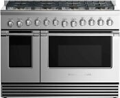 Fisher Paykel Rgv2488nn 48 Stainless Professional Gas Range Nob T2 43177 Mad