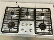 Miele Km3475g Gas Stainless Steel Cooktop Used