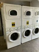 Washer Dryer Combo Stacked Speed Queen Commercial Heavy Duty