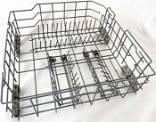 Oem Kitchenaid Kenmore Whirlpool Dishwasher Lower Rack Assembly With Rollers
