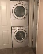 Whirlpool Duet Electric Front Load Washer And Dryer Set With Pedestals