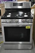 Samsung Nx58t7511ss 30 Stainless Freestanding Gas Range Nob 102592